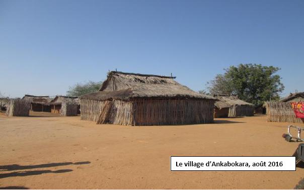 Le village d'Ankabokara