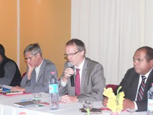 Jens Busma, représentant de l'Ambassade d'Allemagne et de la BMZ à Madagascar